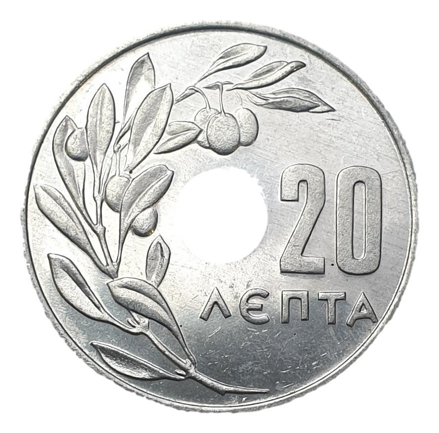 Greece - 20 Lepta 1971, UNC