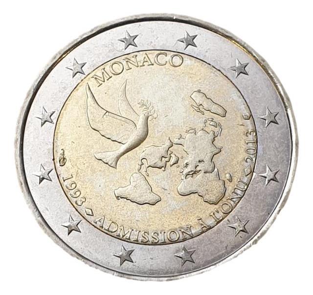 Monaco - 2 Euro 2013, UNC