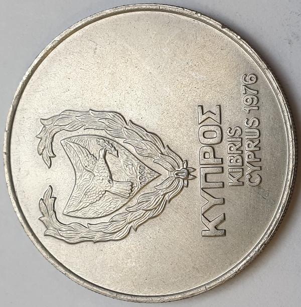Cyprus - 500 Mils 1974