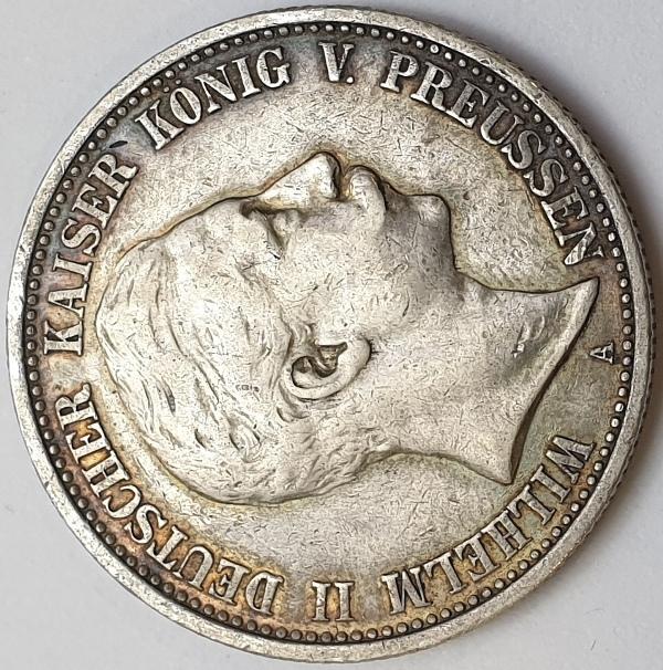 Germany - 2 Mark 1904, Silver
