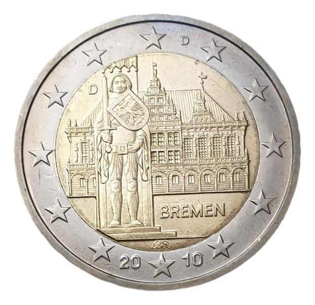 Germany - 2 Euro 2010 D, UNC