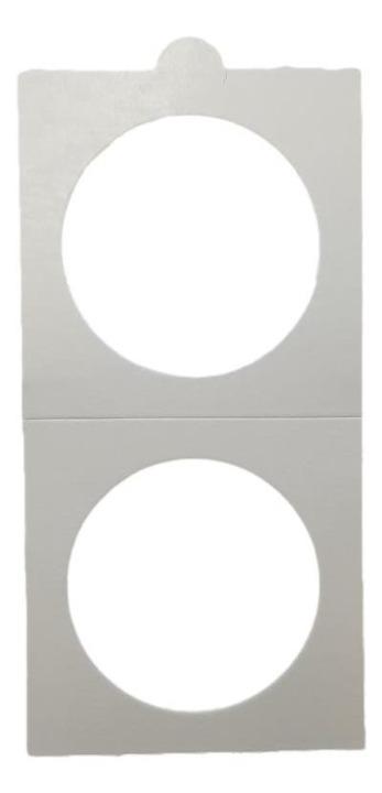 HB - Paper Holder - Sticker - 25 Pieces (37,5 mm)