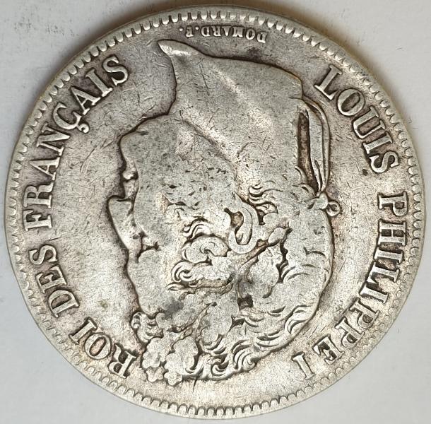 France - 5 Francs 1835, Silver