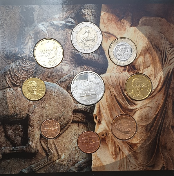 Coins Set - The new Acropolis Museum 2008 + Silver Coins