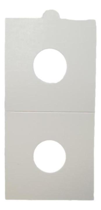 HB - Paper Holder - Sticker - 25 Pieces (17,5 mm)