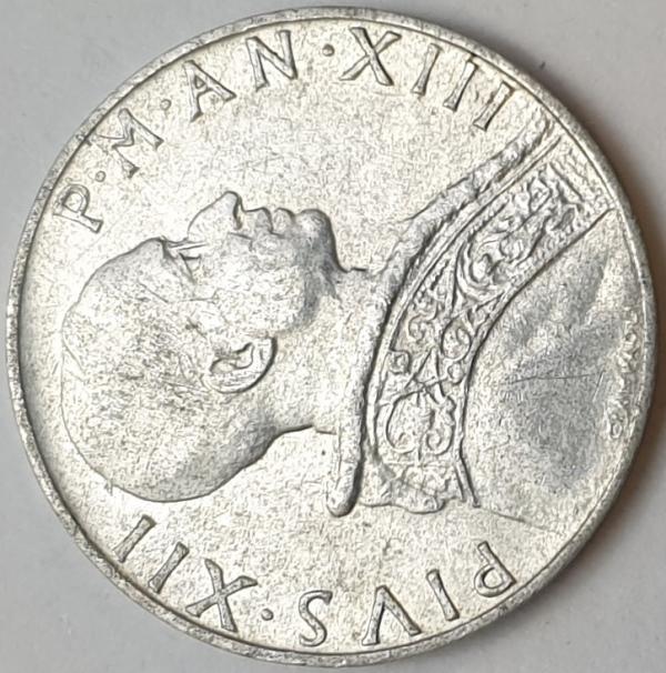 Vaticano - 5 Lire 1951