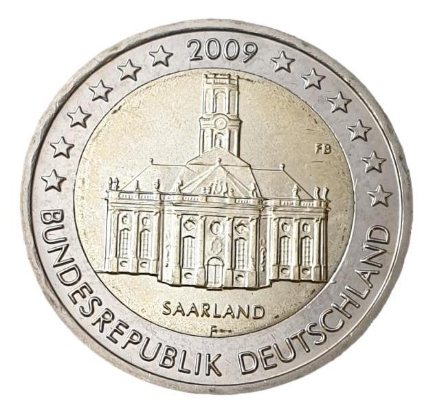 Germany - 2 Euro 2009 F, UNC