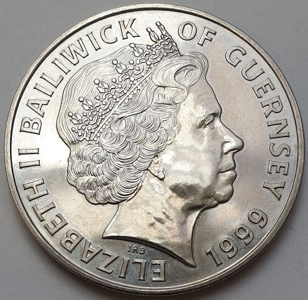 England - 5 Pounds 1999