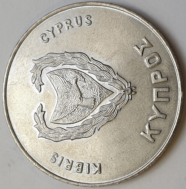 Cyprus - 500 Mils 1980