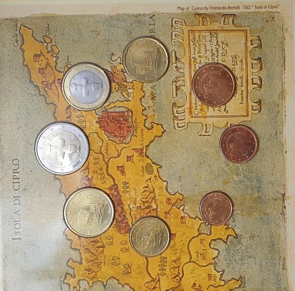 Coins Set - Cyprus 2008