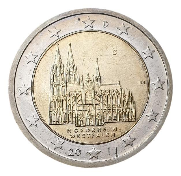 Germany - 2 Euro 2011 D, UNC