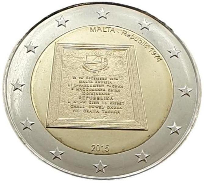 Malta - 2 Euro 2015 A, UNC