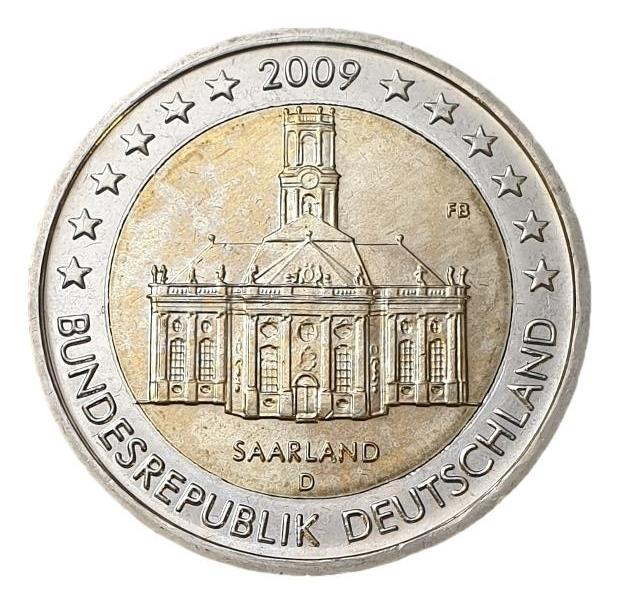 Germany - 2 Euro 2009 D, UNC