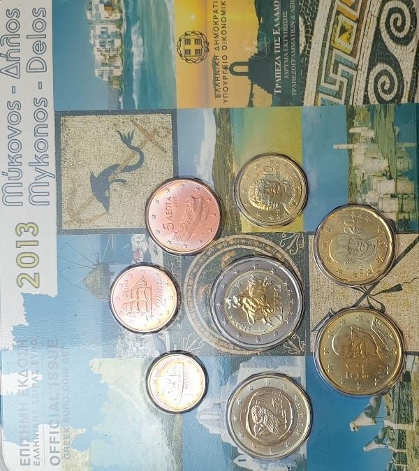 Coins Set - Mykonos - Delos 2013