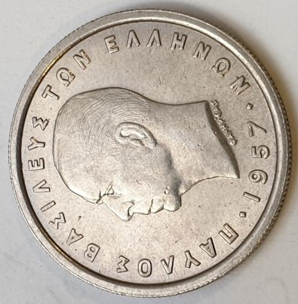 Greece - 2 Drachmai 1957