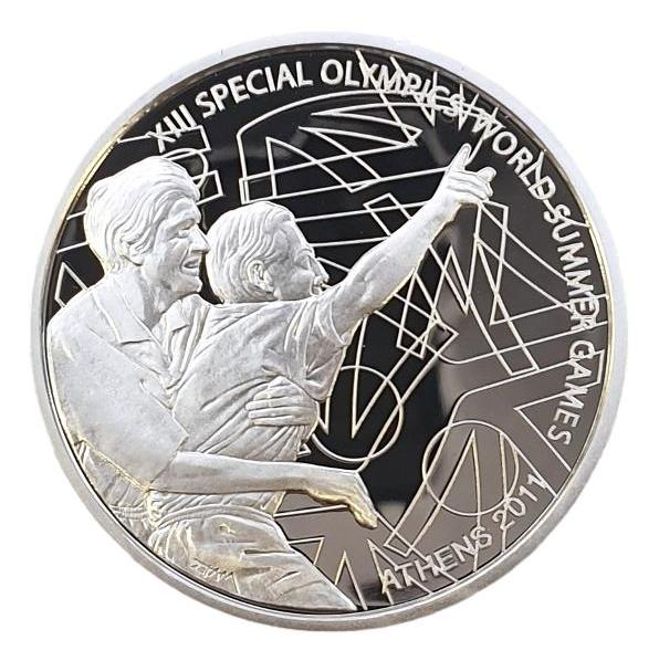 Greece - 10 Euro 2011, XIII Special Olympics, Silver - Proof
