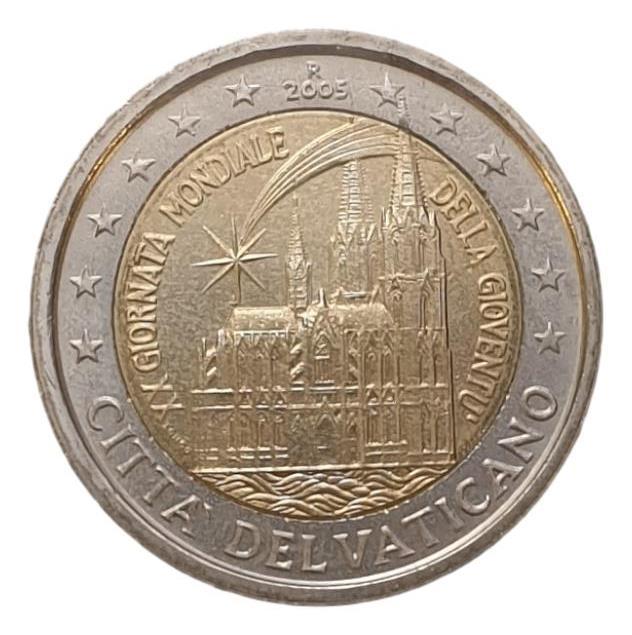 Vaticano - 2 Euro 2005,  XX Giornata Mondiale della Gioventu, (Coin Card)