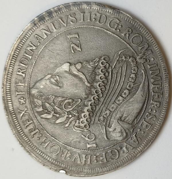Austria - 1 Thaler 1621, Silver