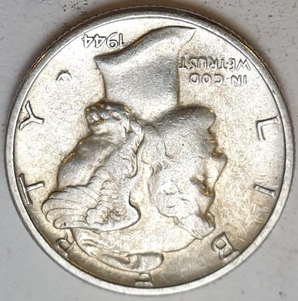 USA - 1 Dime 1944, Silver