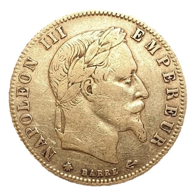 France - 5 Francs 1862, Napoleon III