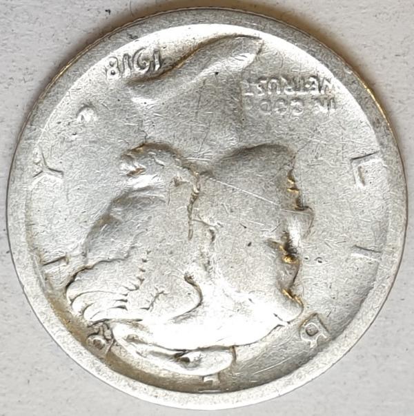 USA - 1 Dime (S) 1918, Silver