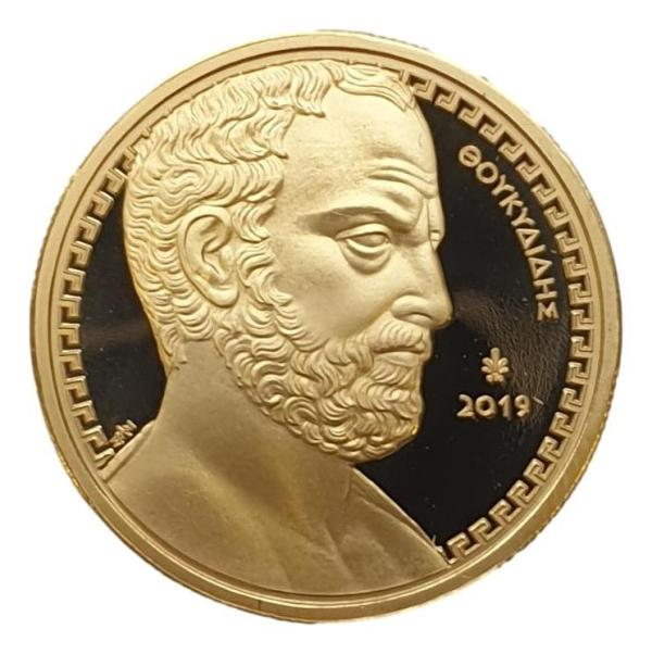 Greece - 200 Euro 2019, Thucydides, Gold PROOF