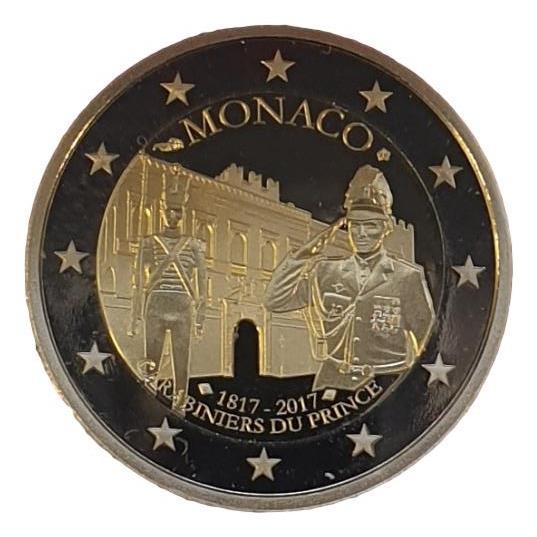 Monaco - 2 Euro 2017, UNC PROOF