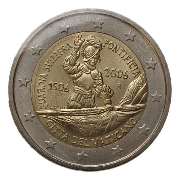 Vaticano - 2 Euro 2006, V Centenario della Guardia Svizzera Pontificia, (Coin Card)