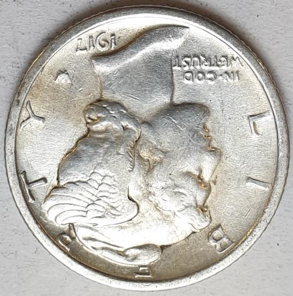 USA - 1 Dime 1917, Silver