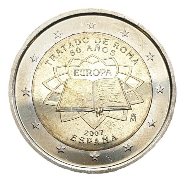Spain - 2 Euro 2007, UNC