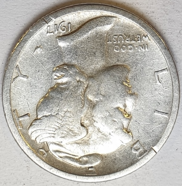 USA - 1 Dime (S) 1917, Silver