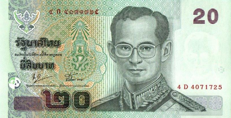 Bank Of Thailand - 20 Baht 2003, UNC
