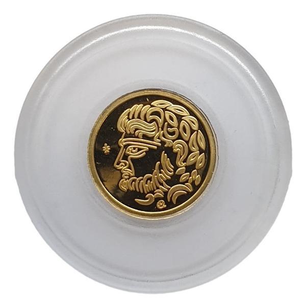 Greece - 50 Euro 2018, Temple of Poseidon in Sounio, Gold PROOF