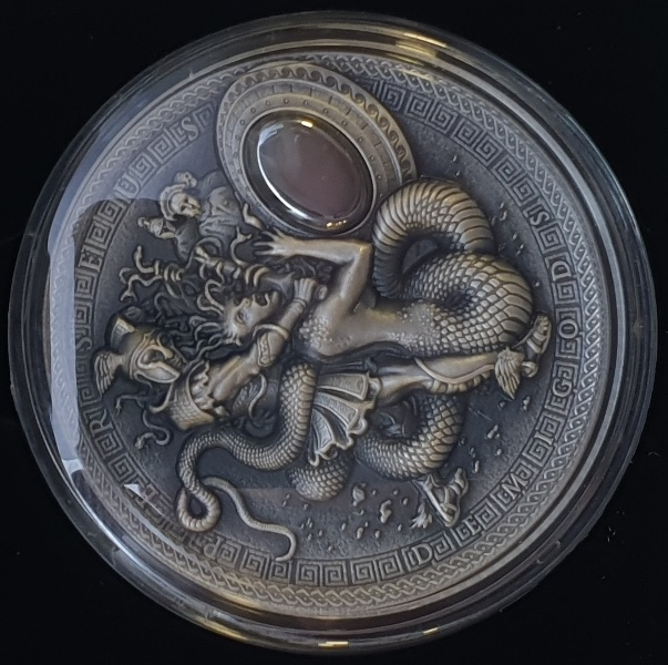 Niue - 2 Dollars 2018 - Perseus, Silver 999*