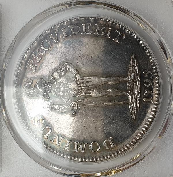 Switzerland - 1 Thaler 1795 (MS 62), Sw - Bern, D-1759