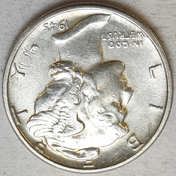USA - 1 Dime 1945, Silver
