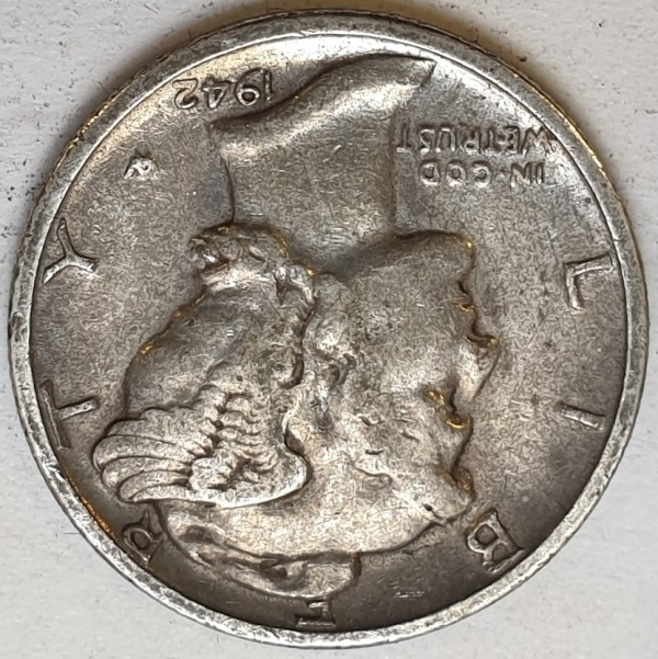 USA - 1 Dime 1942, Silver