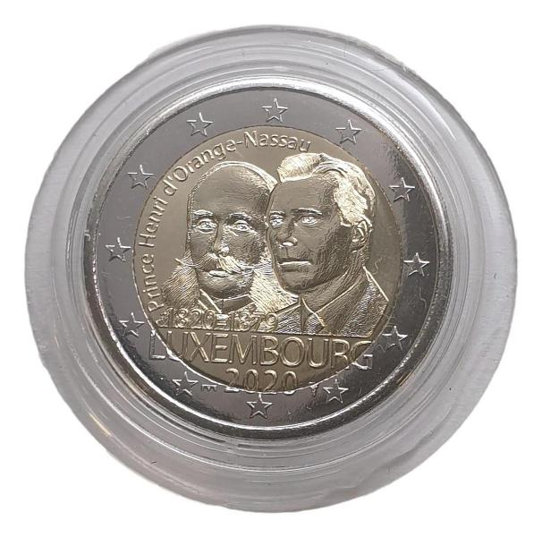 Luxembourg - 2 Euro 2020 A, (Coin Card)
