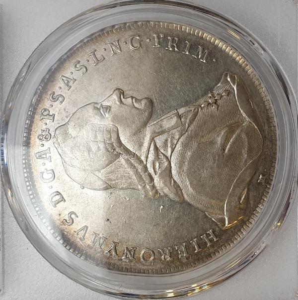 Austria - 1 Thaler 1777-M (AU 55), Au Salzburg, D-1263