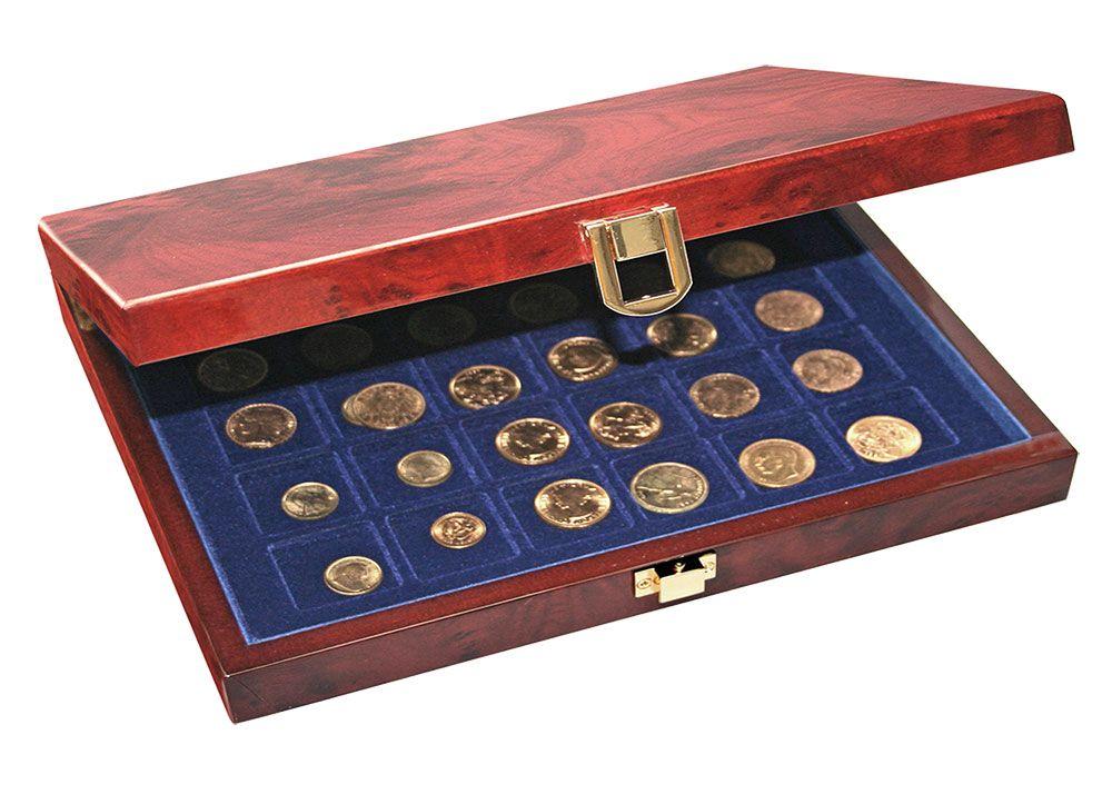 Safe - Lacquerwood Coin Cassette Premium without capsules