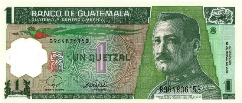 Bank Of Guatemala - 1 Quetzal 2008, UNC