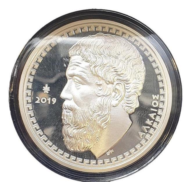 Greece - 10 Euro 2019, Alcaeus, Silver PROOF