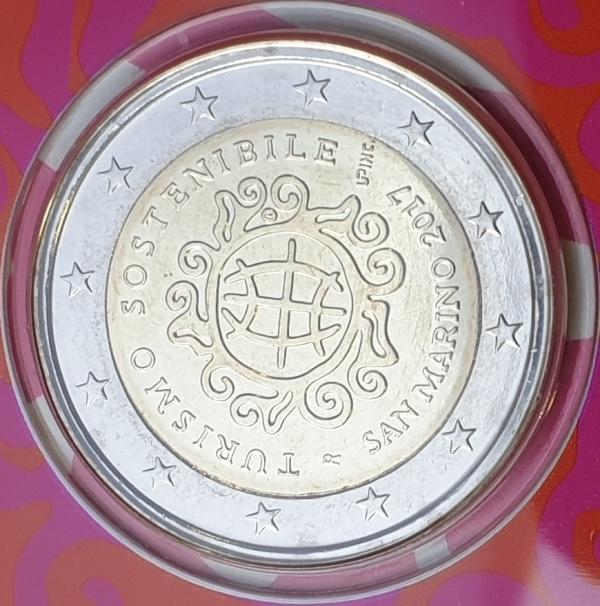 San Marino - 2 Euro 2017, Anno Internazionale, (Coin Card)