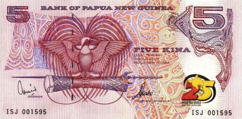 Bank Of New Guinea - 5 Kina 2000, UNC