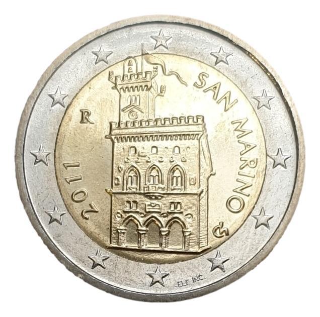 San Marino - 2 Euro 2011, UNC
