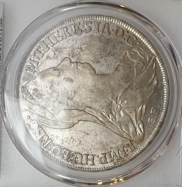 Austria - 1 Thaler 1780 (AU Detail), H-32b Guenzburg (1790-05)