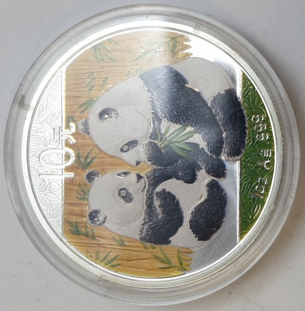 China - 1 OZ 2009 - Panda, Silver 999*