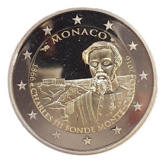 Monaco - 2 Euro 2016, UNC PROOF