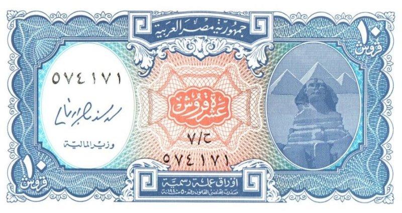 Bank Of Egypt - 10 Piastres 2006, UNC