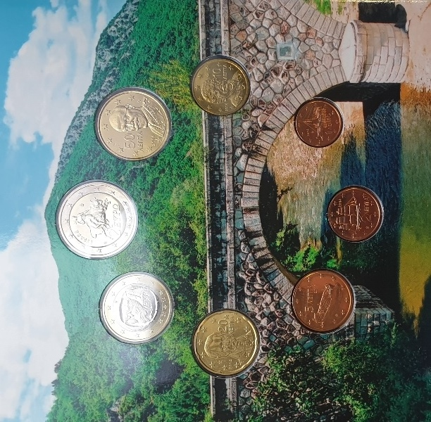 Coins Set - Thrace 2014